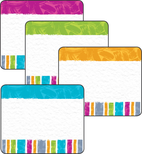 Color Harmony™ Stripes Terrific Labels™ Variety Pack