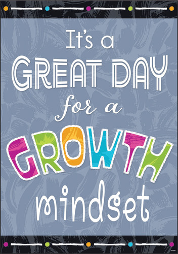 Color Harmony™ GREAT DAY for a GROWTH MINDSET Argus® Poster
