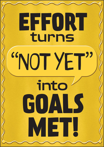 I ? Metal™ Effort turns NOT YET into… Argus® Poster
