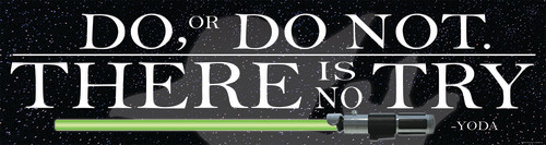 Star Wars™ Do or Do Not Banner