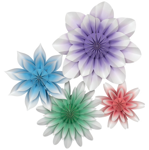 Floral Bloom Paper Flowers