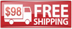 Red Free Shipping Icon