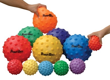Small SloMo BumpBalls - Set of 6
