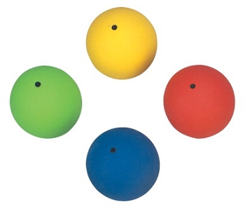 Vinex PVC Elementary Elementary Shot Put Set - Assorted Color - Set of 4