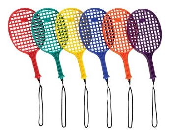 Junior Plastic Paddles - Set of 6