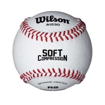 Wilson Soft Compression Baseball - Pack of 12