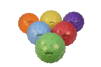 Sportime Large SloMo BumpBalls, 8-1/2 to 10 Inches, Assorted Colors, Set of 6