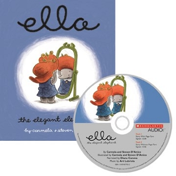 Carry Along Book & CD, Ella the Elegant Elephant