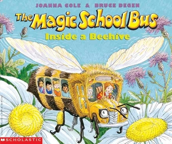 The Magic School Bus Inside a Beehive - Paperback