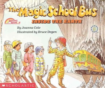 The Magic School Bus Inside the Earth - Paperback
