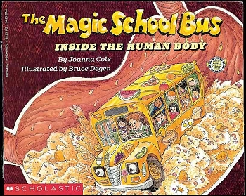 The Magic School Bus Inside the Human Body - Paperback