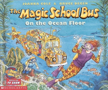 The Magic School Bus on the Ocean Floor - Paperback