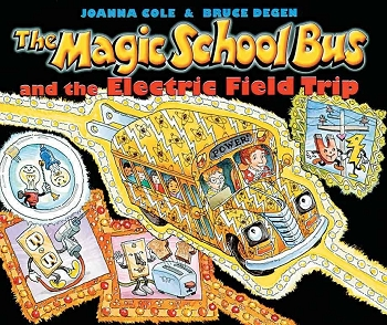 The Magic School Bus and the Electric Field Trip - Paperback