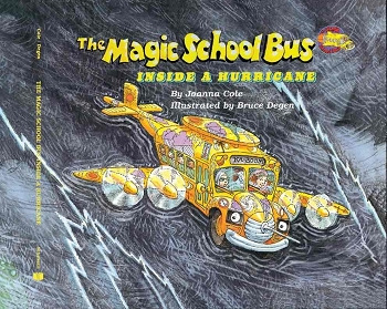 The Magic School Bus Inside a Hurricane - Paperback