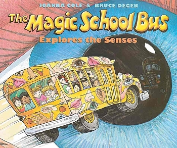 The Magic School Bus Explores the Senses - Paperback