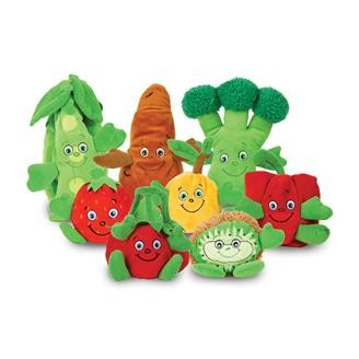Garden Heroes Plush Character Set of 8