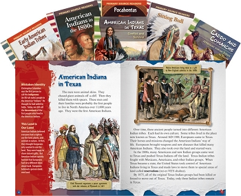Teacher Created Materials American Indian Tribes, Grades 4 to 8, Set of 6