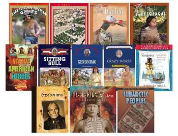 Native American Book Set, Grades 3 to 5, Set of 12