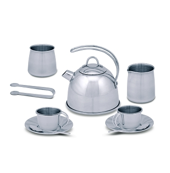 Lets Play House! Stainless Steel Tea Set