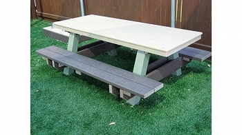4' Preschool Picnic Table