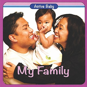 Active Baby Board Book - My Family