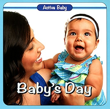 Active Baby Board Book - Baby's Day