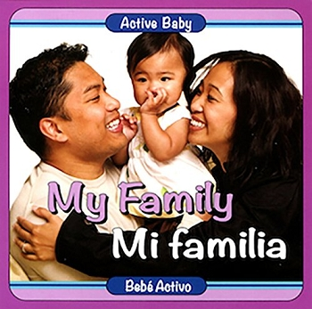 Active Baby Board Book - My Family (Bilingual)
