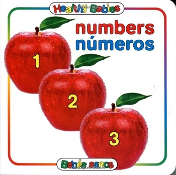Healthy Babies Bilingual Board Book - Numbers