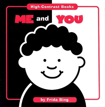 High Contrast Board Books - Me and You
