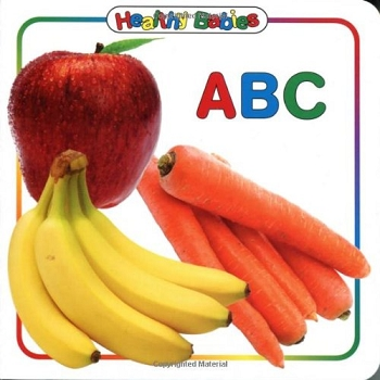 Healthy Babies Board Book - ABC