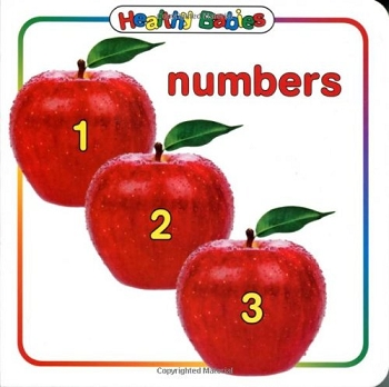 Healthy Babies Board Book - Numbers
