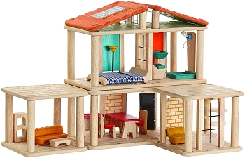 Creative Wooden Play House by Plan Toys