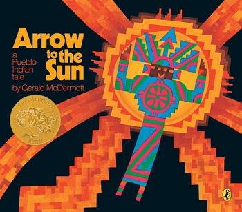 Arrow To The Sun, Hardcover, by Gerald McDermott
