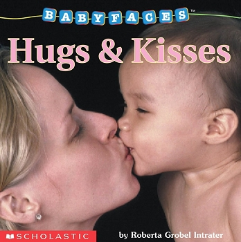 Baby Faces Board Book - Hugs & Kisses