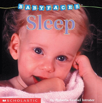Baby Faces Board Book - Sleep
