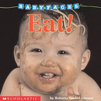 Baby Faces Board Book - Eat!
