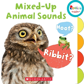 Rookie Toddler Board Book - Mixed Up Animal Sounds