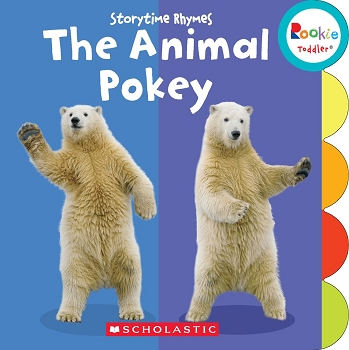 Rookie Toddler Board Book - The Animal Pokey