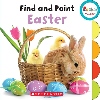Rookie Toddler Board Book - Find and Point Easter