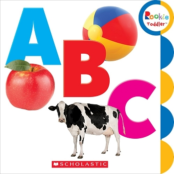 Rookie Toddler Board Book - ABC