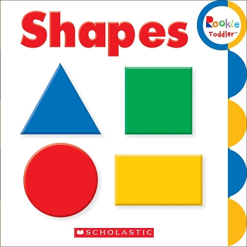 Rookie Toddler Board Book -Shapes