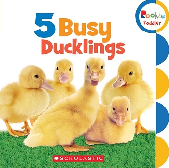 Rookie Toddler Board Book - 5 Busy Ducklings