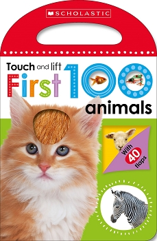Scholastic Early Learners: Touch and Lift - First 100 Animals