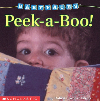 Baby Faces Board Book - Peek-a-Boo!