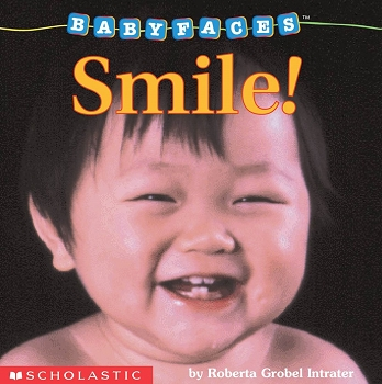 Baby Faces Board Book - Smile!