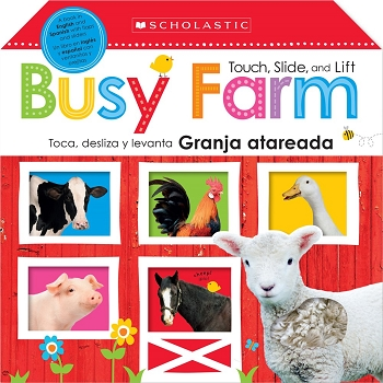 Touch, Slide, and Lift Busy Farm / Toca, Desliza y Levanta: Granja Atareada Bilingual Board Book