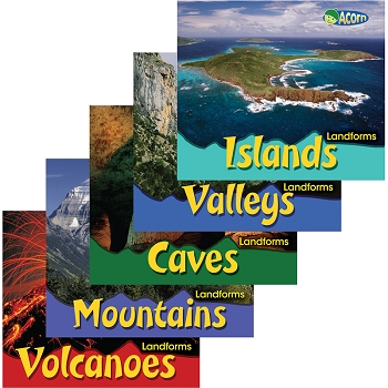 Landforms Book - Set of All 5