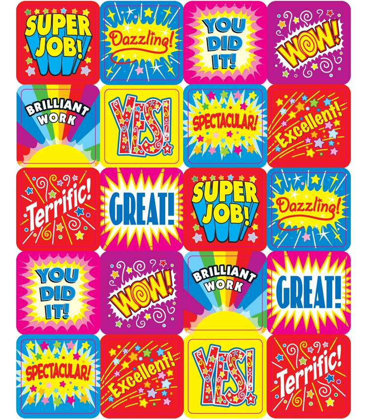 Positive Words - Motivational Stickers