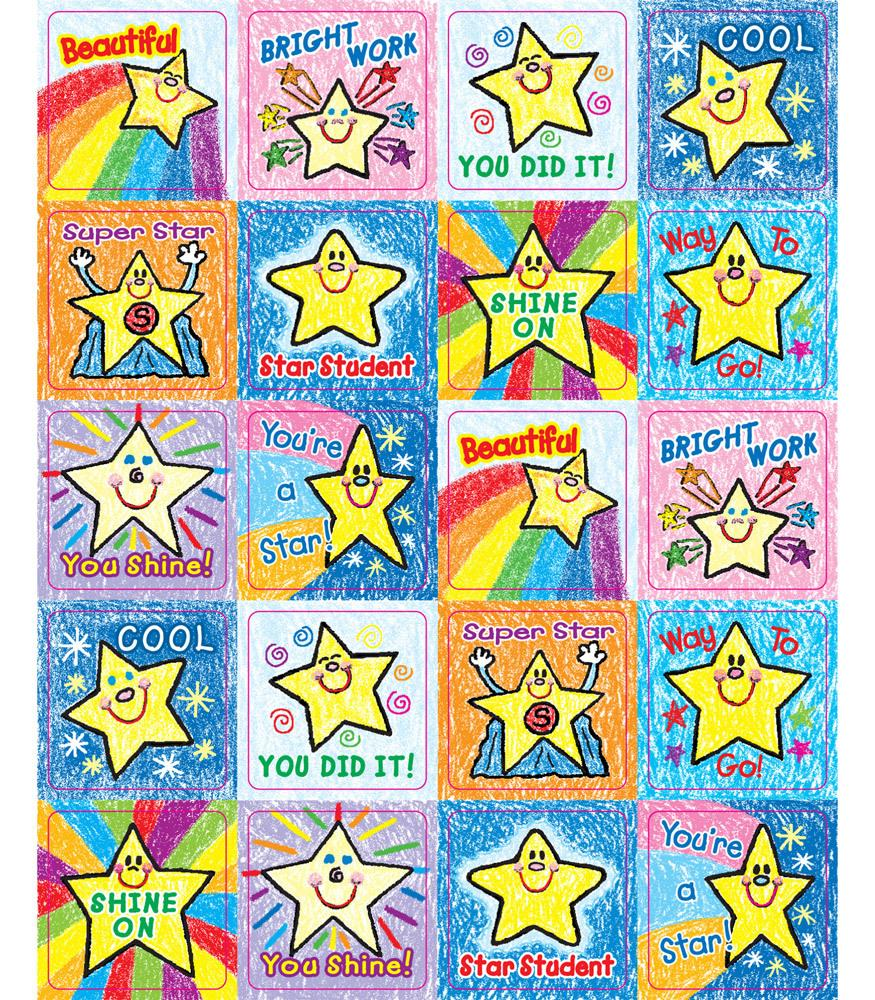 Stars - Motivational Stickers
