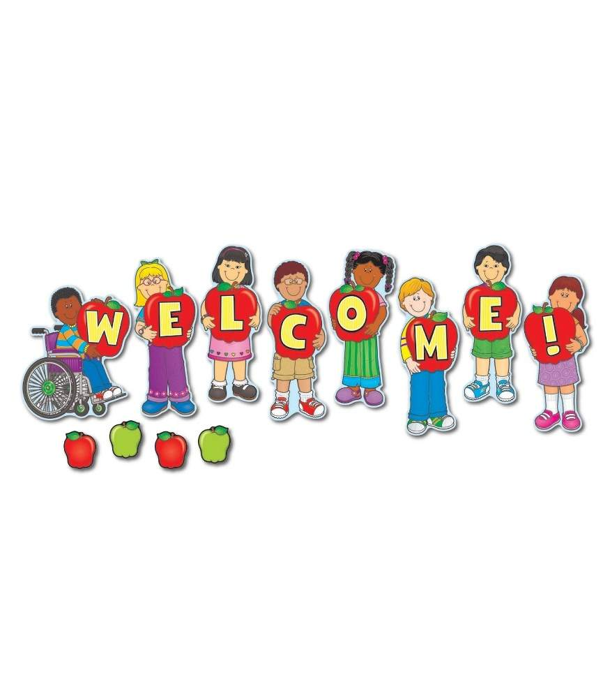 Welcome Mini Bulletin Board Set